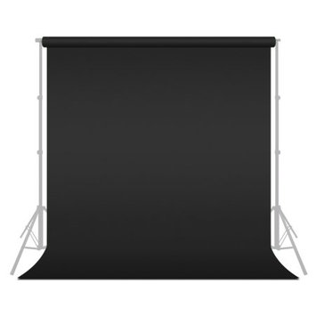 Limo Studio LimoStudio Chromakey Photo Video Photography Studio Fabric Backdrop Background Screen, 6 ft X 9 ft, Black, LIWA52