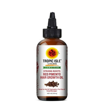 Tropic Isle Living Jamaican Strong Roots Red Pimento Hair Growth Oil - 4oz