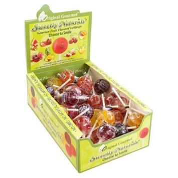 Original Gourmet Sweetly Naturals Lollipops - 48ct
