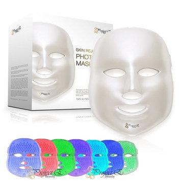 Project E Beauty 7 Color LED Mask Photon Light Skin Rejuvenation Whitening Facial Beauty Daily Skin Care Mask