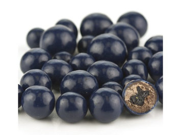 Beulah's Candyland Blue Chocolate Covered Dried Blueberries 1 pound