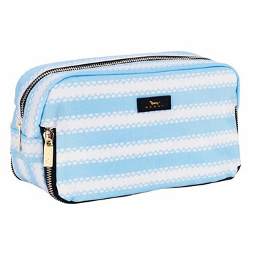 SCOUT 3-WAY BAG Makeup Pouch, Water- Resistant Toiletry and Makeup Bag for Women, 3 Separate Zipper Compartments (Multiple Patterns Available)