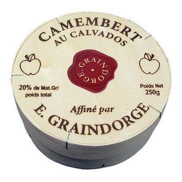 Camembert With Calvados - Pre Order - - 6 x 8.8 oz