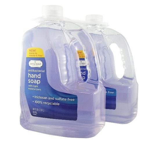Simply Right Antibacterial Hand Soap Refills, 160 Ounce