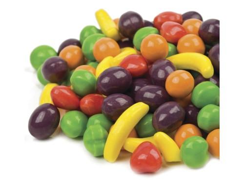 Beulah's Candyland Wonka Fruit Runts Hard Candy fruit shape 2 pounds