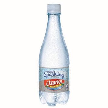 Nestle Ozarka Sparkling Natural Spring Water, Original, 16.9 Fl Oz, 24 Count