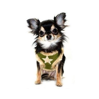 Fur Star Dog Harness Vest in Black