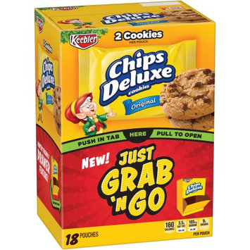 Kellogg Sale Company Keebler Chips Deluxe Original Cookies 18 Ct Caddies (Pack Of 4)
