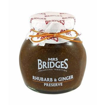 Mrs Bridges Rhubarb and Ginger Preserve, 12-Ounce