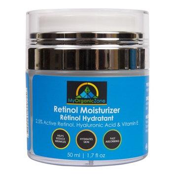 Retinol Cream, Best Face Moisturizer & Skin Hydrator, Anti Aging, Anti Wrinkle Moisturizing Face Lotion, Helps With Dry Skin or Sensitive Skin, Tinted Eye Cream (1.7 fl.oz/50 ml)