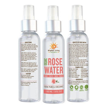 Pure Moroccan Rosewater Toner | Natural & Organic | Facial cleanser | Helps treat Acne| Aromatherpy stress relief | Slow skin Aging |After...