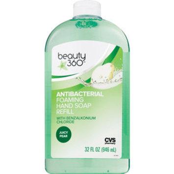 Beauty 360 Antibacterial Foaming Hand Soap Refill, Juicy Pear