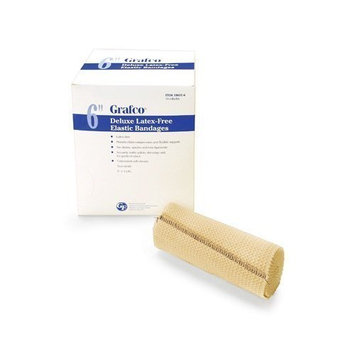 Grafco® Deluxe Latex-Free Elastic Bandages, 4