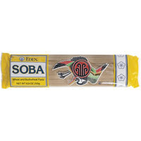 Eden Soba Wheat and Buckwheat Pasta, 8.8 oz, (Pack of 6)