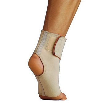 Thermoskin Ankle Wrap, Beige, Large
