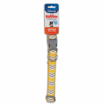 Petmate 4 Packs 3/4x14-20YEL Dog Collar