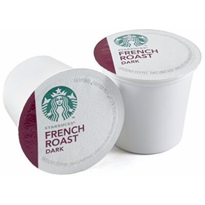 Starbucks French Roast Dark Roast Coffee Keurig K-Cups, 64 Count