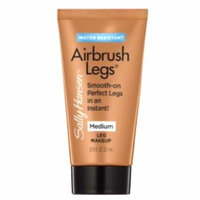 (6 Pack) SALLY HANSEN Airbrush Legs Lotion Trial Size - Medium-Trial Size