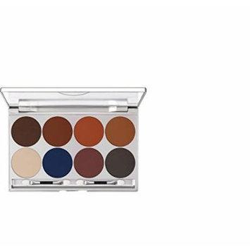 Kryolan Eye Shadow Palette 8 Colors 5308 Shading Makeup Palette