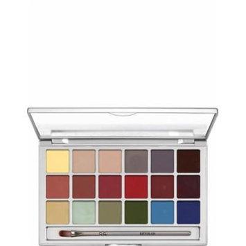 Kryolan Coloring Vision Palette 18 Color 1018 Effects Makeup Palette