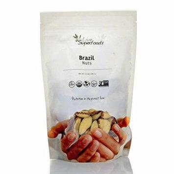 Live Superfoods Brazil Nuts, Organic, 8 oz