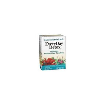 Traditional Medicinal's Everyday Detox Herb Tea (3x16 bag)