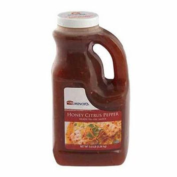 Nestle Minors Honey Citrus Pepper Sauce, 0.5 Gallon -- 4 per case.