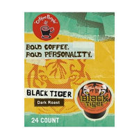 Coffee People Black Tiger Coffee (1 Box of 24 K-Cups)