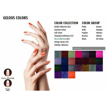 SNS Nail dipping powder Gelous color - 9 colors Diva Collection