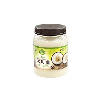 Wellsley Farm Organic Coconut Oil, Refined, 54 Oz Jar