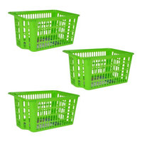 Missry Associates Inc X-Large Stackable Basket 3 pack