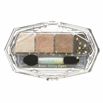 IDA Laboratories CANMAKE | Powder Eye Shadow | Four Shiny Eyes 03 Milk Chocolat