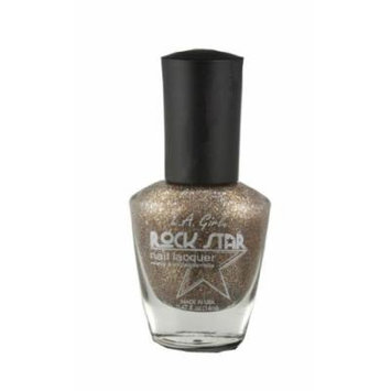 LA Girl Rock Star Nail Polish Double Platinum NL121
