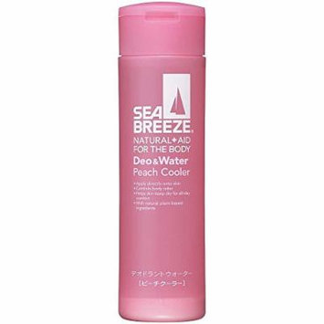 Shiseido Sea Breeze | Antiperspirant | Deodorant & Water Peach Cooler