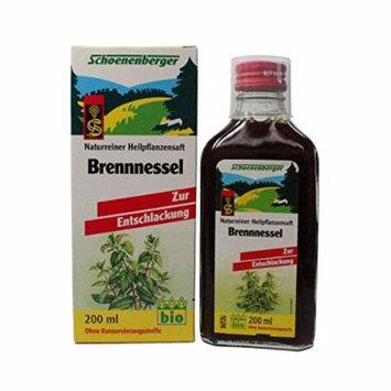 Nettle Juice Organic (200mL) Brand: Salus Haus