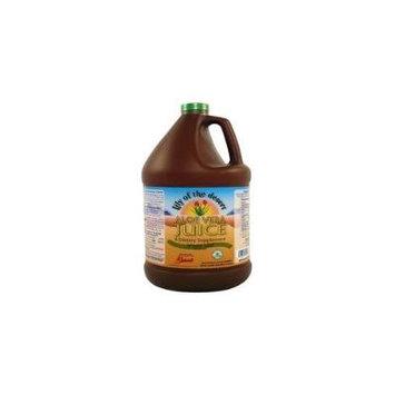 Aloe Vera Juice Whole Leaf - Plastic-3.8 L Brand: Lily Of The Desert