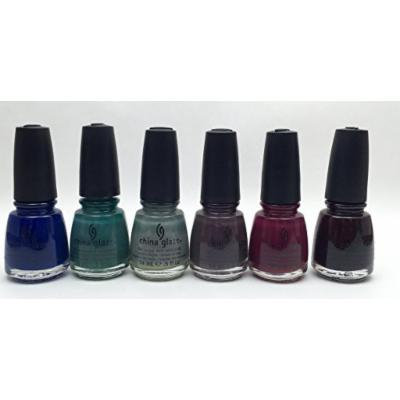 China Glaze 2012 Safari Native 6 Bottle Collection Set