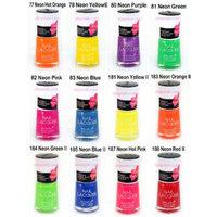 12pcs Neon Color Nail Polish Nabi Nail Polish
