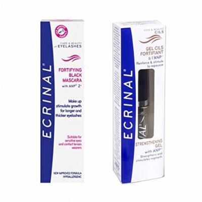 Ecrinal Lash and Brow Kit (Strengthening Gel & Strengthening Black Mascara)