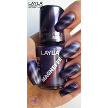 Layla Magneffect Softouch Nail Polish (Deep Violet Softouch #4)