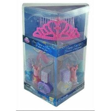 Cinderella Tiara & Nail Polish Set in Triangular Acetate box