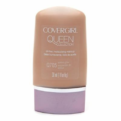 CoverGirl Queen Collection Oil-Free Moisturizing Make up, Amber Glow Q705 1 fl oz (30 ml)