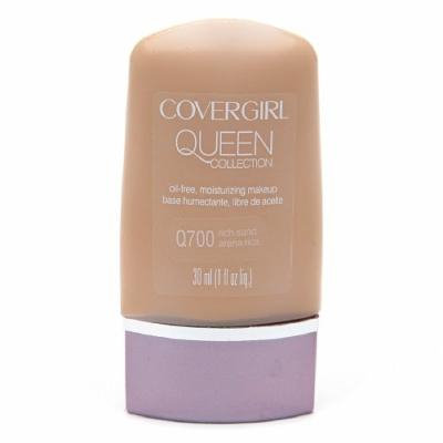 CoverGirl Queen Collection Oil-Free Moisturizing Make up, Rich Sand Q700 1 fl oz (30 ml)