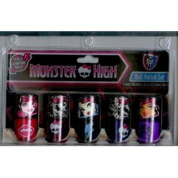 Monster High 5 Piece Nail Polish Set