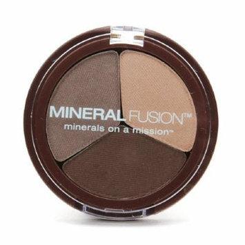 Mineral Fusion Trio Eye Shadow Palette, Fragile 0.1 oz (3 g)