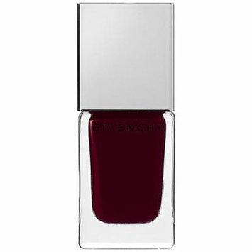 Le Vernis Intense Color Nail Lacquer Givenchy 0.3 Oz Pòurpre Défilé 08 - Rich Burgundy Plum