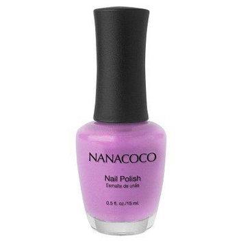 Nanacoco Nail Polish Pink Rose (Pack of 6)Bubble Gum Pink
