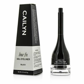 Cailyn Gel Eyeliner, Black - Smudge Free, Built-In Brush