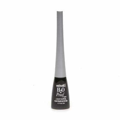 Wet n Wild H2O Proof Liquid Eyeliner, Ultra Black 881 0.17 fl oz (5 ml) by AB