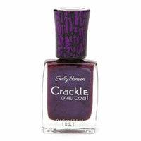 Sally Hansen Crackle Overcoat Nail Color, Vintage Violet 02 0.4 fl oz (11.8 ml)